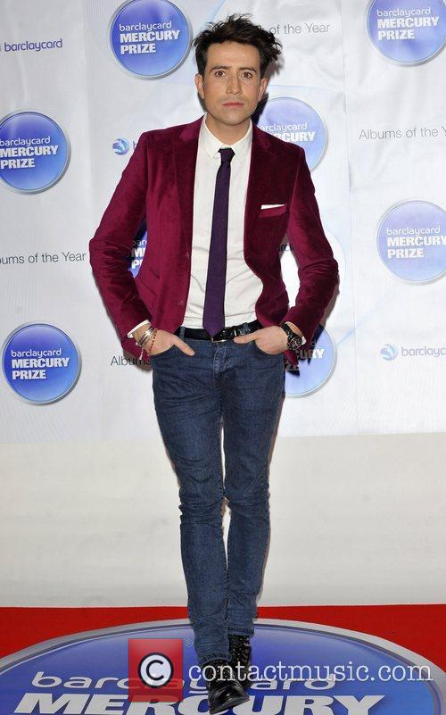 Nick Grimshaw and Barclaycard Mercury Music Prize 1