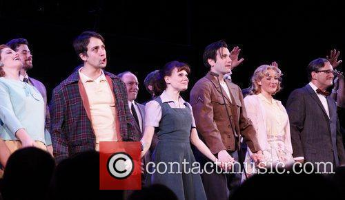 Closing night curtain call for the Encores! production...
