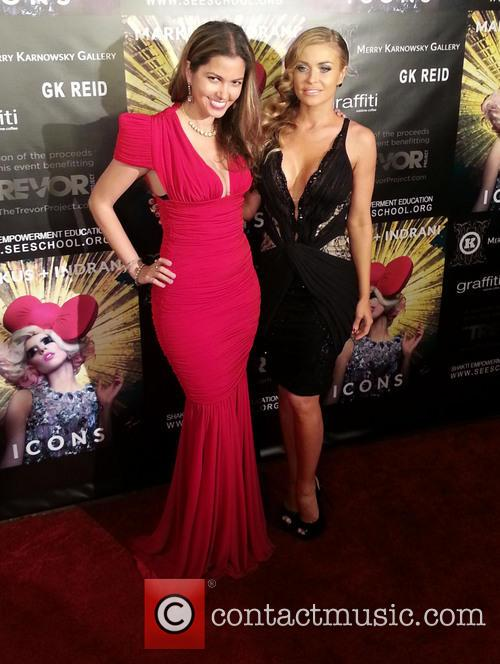 Carmen Electra and Indrani 1