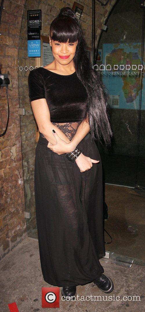 Sarah Jane Crawford at the Merry Nailporn party...