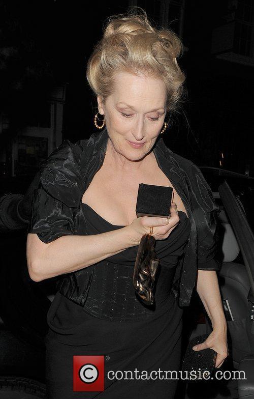 Meryl Streep and Bafta 8