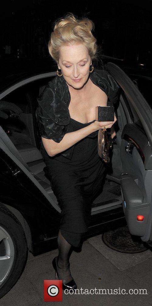 Meryl Streep and Bafta 12