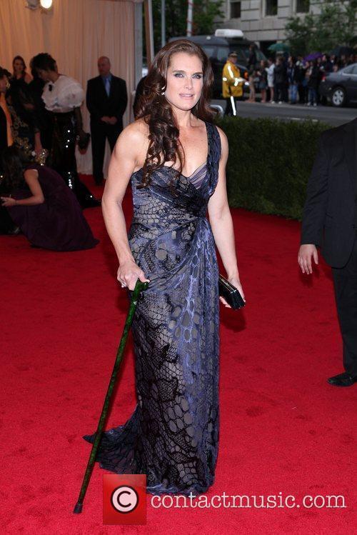 Brooke Shields Schiaparelli and Prada 'Impossible Conversations' Costume...