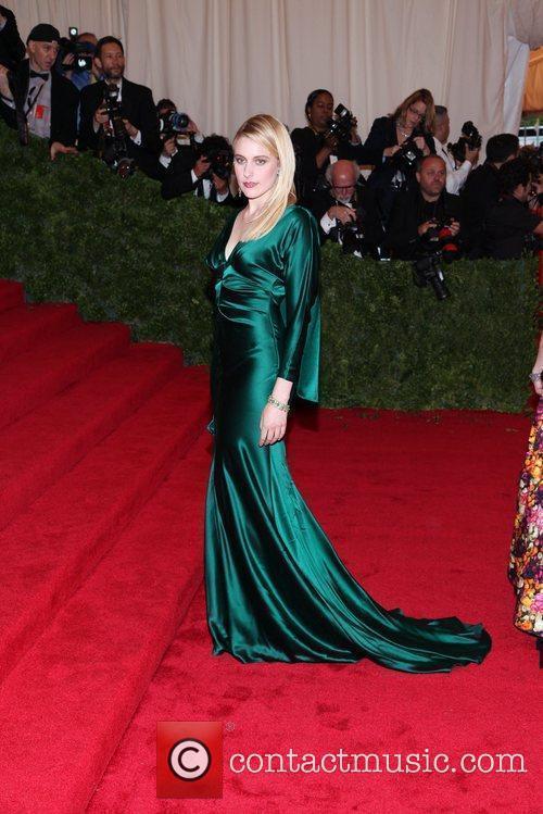 Greta Gerwig Schiaparelli and Prada 'Impossible Conversations' Costume...