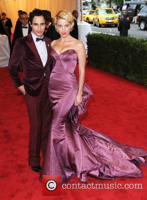 Amber Heard and Zac Posen Schiaparelli and Prada...