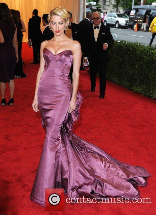 Amber Heard Schiaparelli and Prada 'Impossible Conversations' Costume...