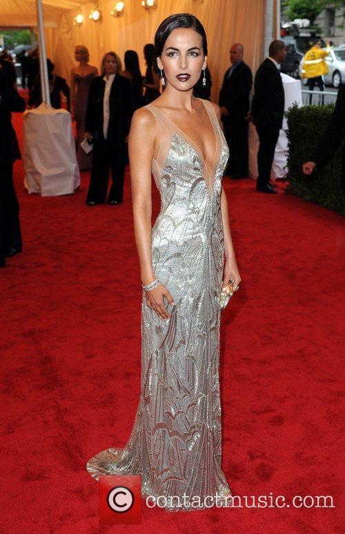 Camilla Belle Schiaparelli and Prada 'Impossible Conversations' Costume...