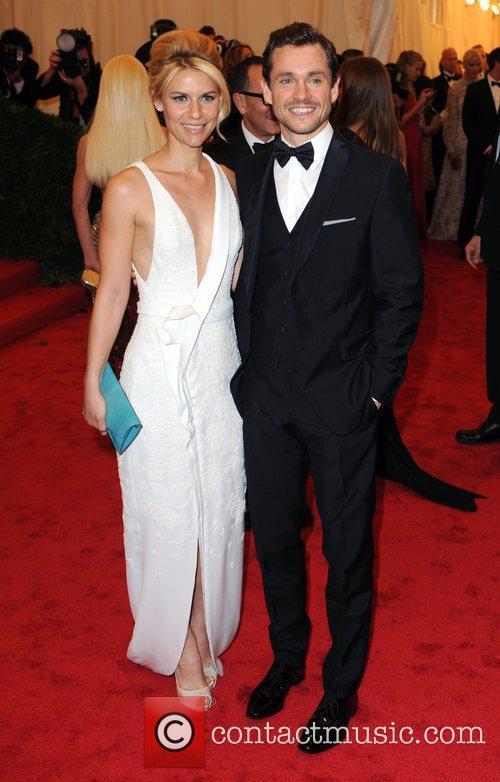 Claire Danes and husband Hugh Dancy Schiaparelli and...