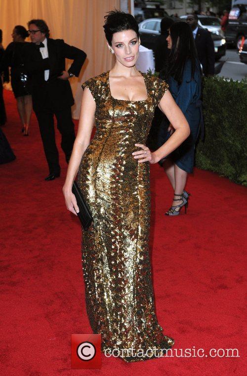 Jessica Pare aka Jessica Pare Schiaparelli and Prada...