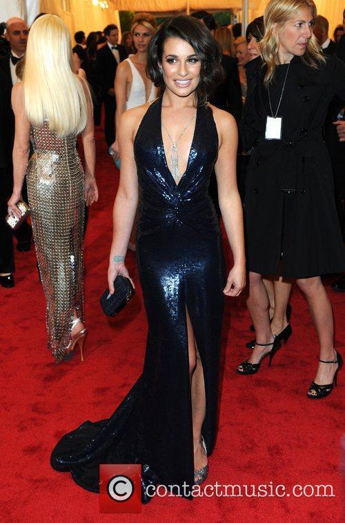 Lea Michele and Metropolitan Museum Of Art 2
