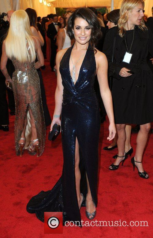Lea Michele and Metropolitan Museum Of Art 1