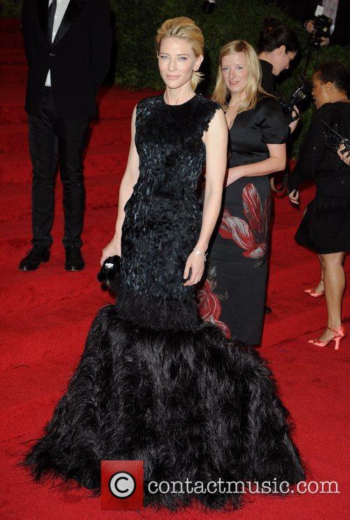 Cate Blanchett Schiaparelli and Prada 'Impossible Conversations' Costume...