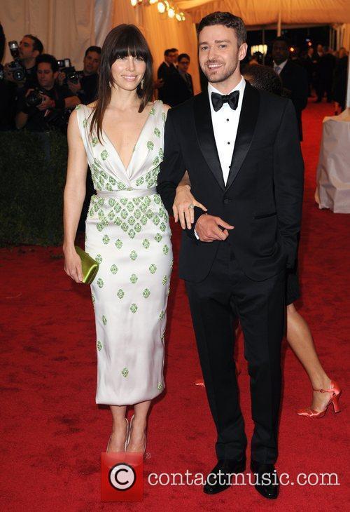 Jessica Biel and Justin Timberlake Schiaparelli and Prada...