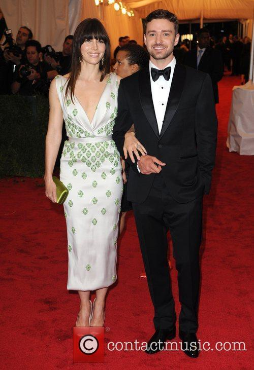 Jessica Biel, Justin Timberlake and Metropolitan Museum Of Art 1