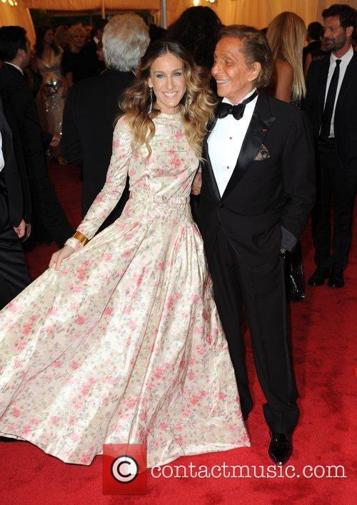 Sarah Jessica Parker and Valentino Garavani  Schiaparelli...
