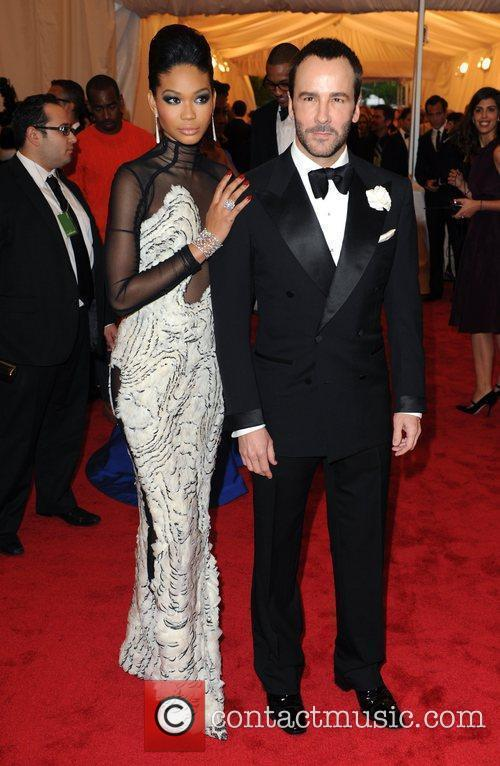 Tom Ford, Chanel Iman and Metropolitan Museum Of Art 1