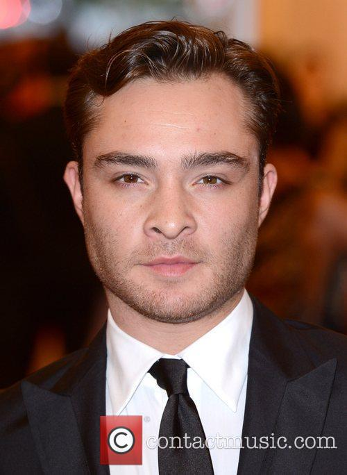 Ed Westwick and Metropolitan Museum Of Art 11