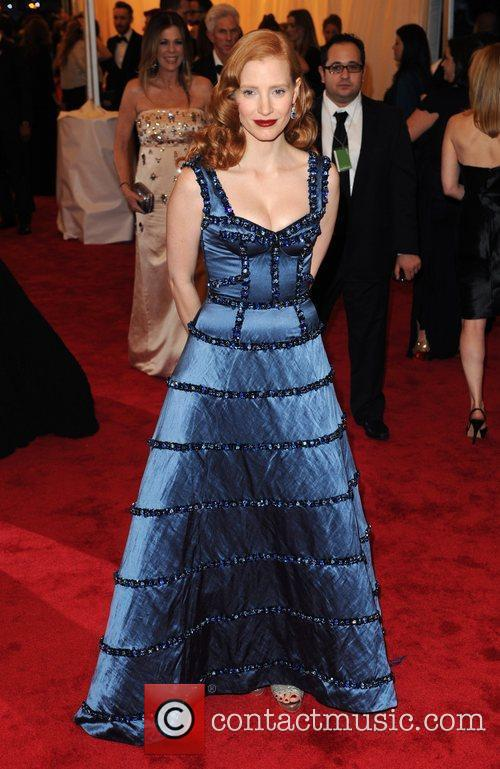Jessica Chastain and Metropolitan Museum Of Art 2