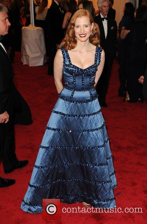 Jessica Chastain and Metropolitan Museum Of Art 1