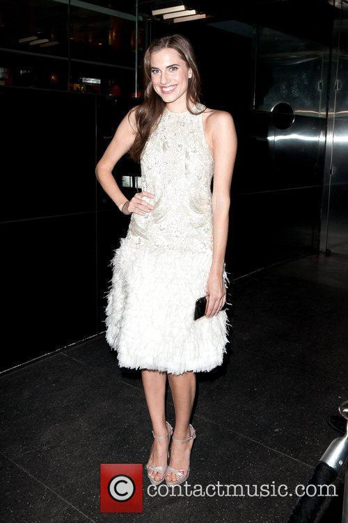 Allison Williams Met Ball 2012 Afterparty held at...
