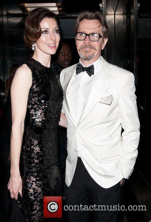 Gary Oldman and Alexandra Edenborough Met Ball 2012...
