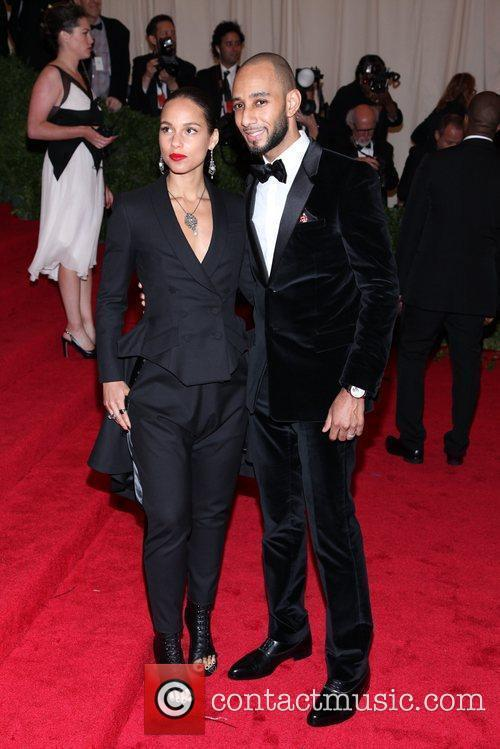 Alicia Keys, Swizz Beatz and Metropolitan Museum Of Art 4