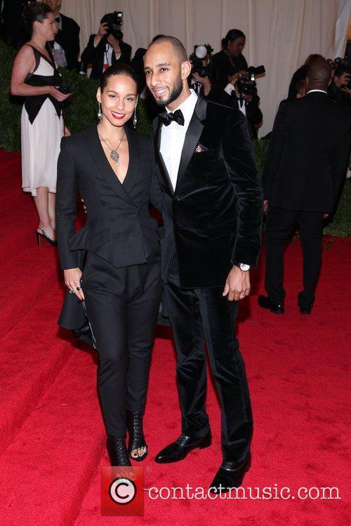 Alicia Keys, Swizz Beatz and Metropolitan Museum Of Art 1