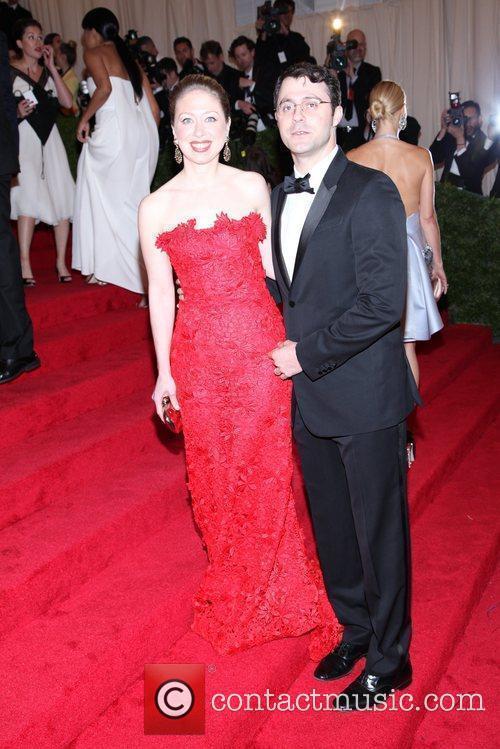Chelsea Clinton & Marc Mezvinsky Schiaparelli and Prada...