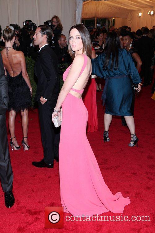 Emily Blunt Schiaparelli and Prada 'Impossible Conversations' Costume...
