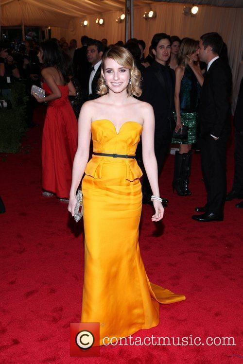 Emma Roberts and Metropolitan Museum Of Art 3