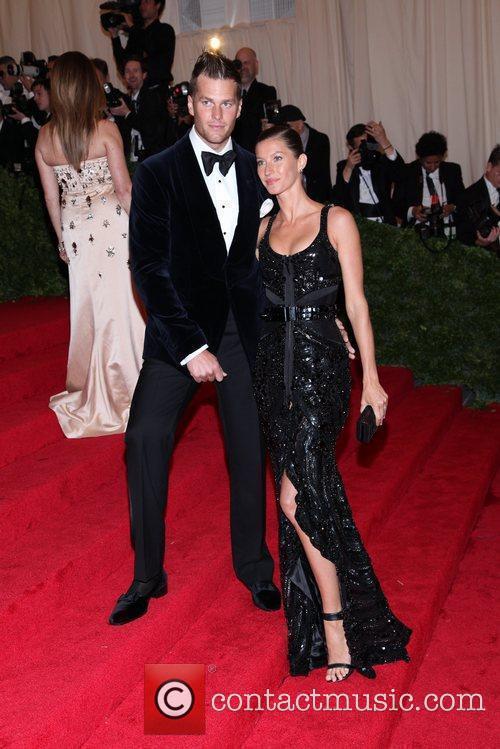 Gisele Bundchen and Tom Brady Schiaparelli and Prada...