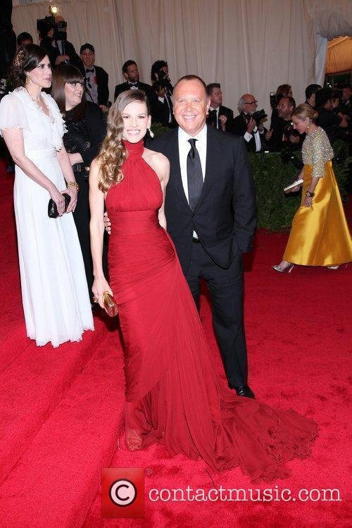Hilary Swank, Michael Kors and Metropolitan Museum Of Art 3