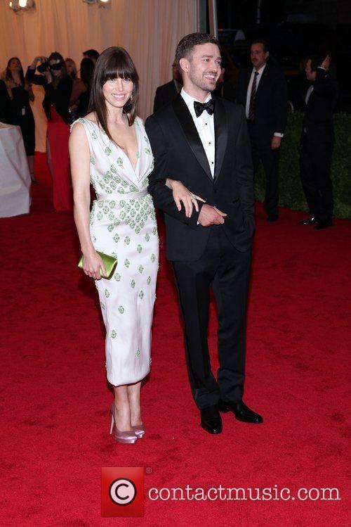 Justin Timberlake and Jessica Biel Schiaparelli and Prada...