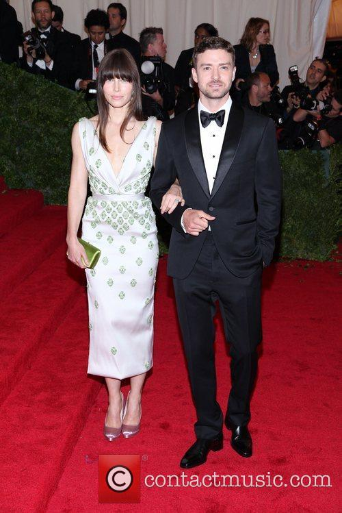 Justin Timberlake, Jessica Biel and Metropolitan Museum Of Art 3
