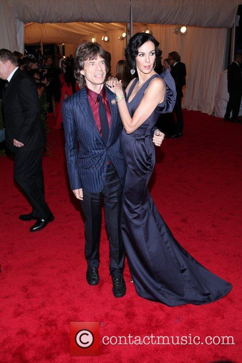 Mick Jagger, L'wren Scott and Metropolitan Museum Of Art 2