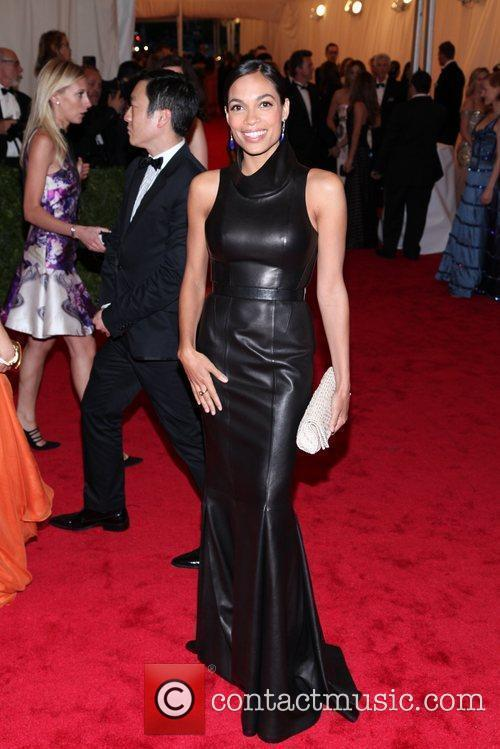Rosario Dawson, Michael Kors and Metropolitan Museum Of Art 1