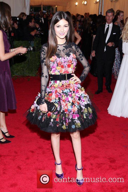 Victoria Justice Schiaparelli and Prada 'Impossible Conversations' Costume...
