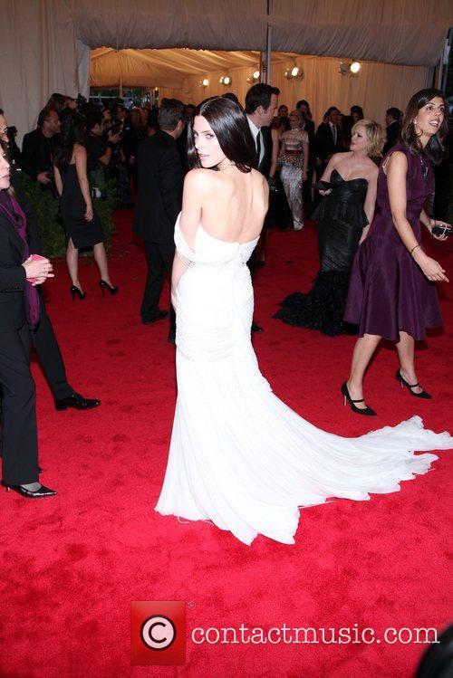 Ashley Greene Schiaparelli and Prada 'Impossible Conversations' Costume...