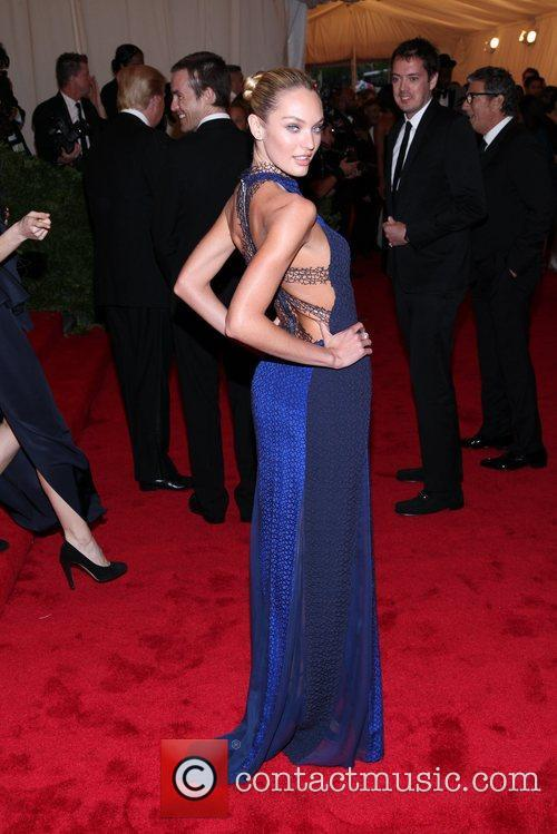 Candice Swanepoel and Metropolitan Museum Of Art 2