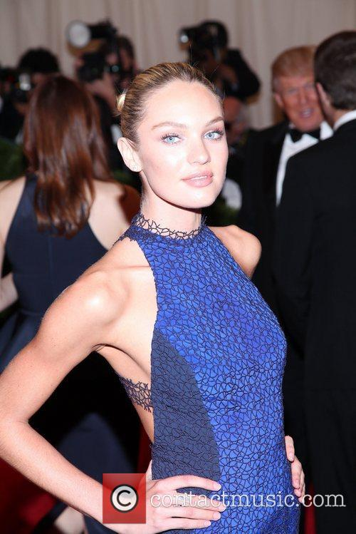 Candice Swanepoel and Metropolitan Museum Of Art 10