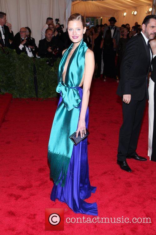 Constance Jablonaski Schiaparelli and Prada 'Impossible Conversations' Costume...