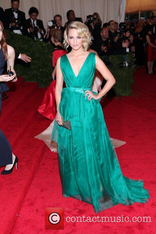 Dianna Agron Schiaparelli and Prada 'Impossible Conversations' Costume...