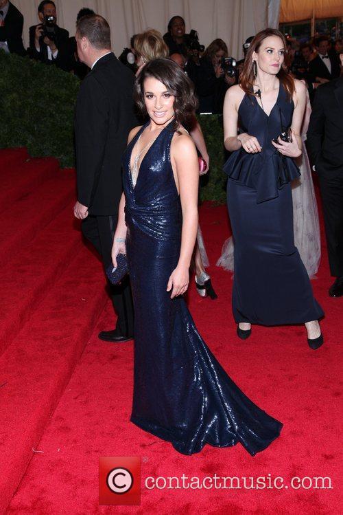 Lea Michele Schiaparelli and Prada 'Impossible Conversations' Costume...