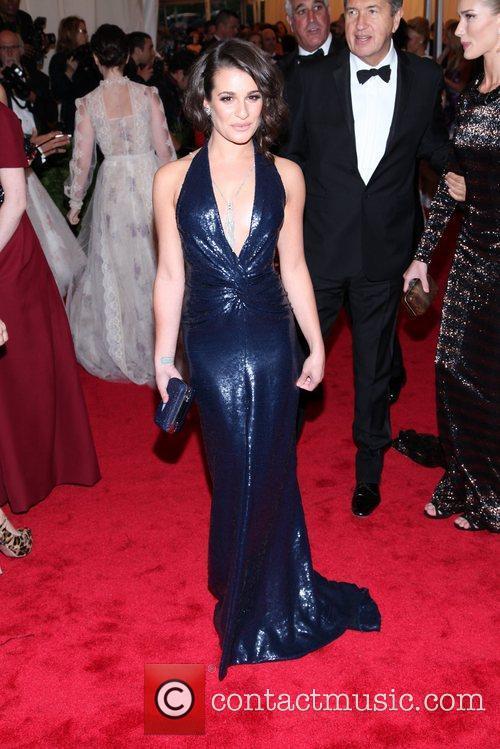 Lea Michele and Metropolitan Museum Of Art 3
