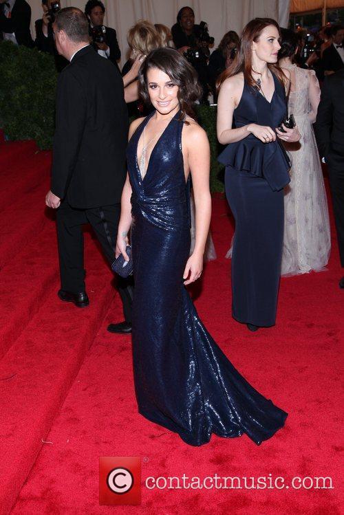 Lea Michele and Metropolitan Museum Of Art 4