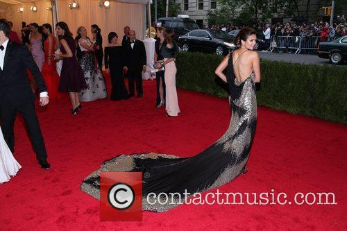 Nina Dobrev Schiaparelli and Prada 'Impossible Conversations' Costume...
