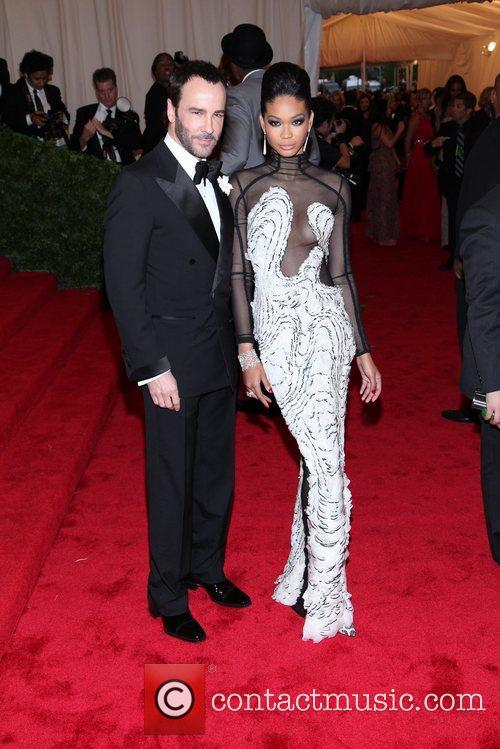 Tom Ford, Chanel Iman and Metropolitan Museum Of Art 2