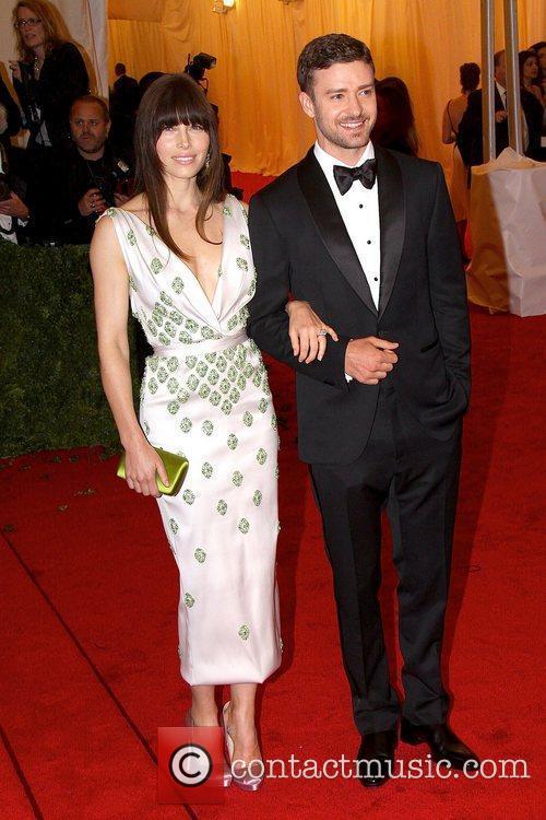 Justin Timberlake, Jessica Biel and Metropolitan Museum Of Art 1