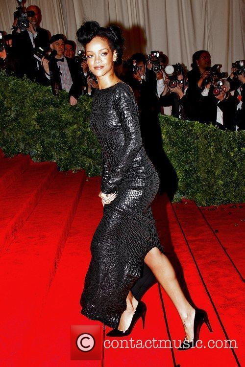 Rihanna Schiaparelli and Prada 'Impossible Conversations' Costume Institute...