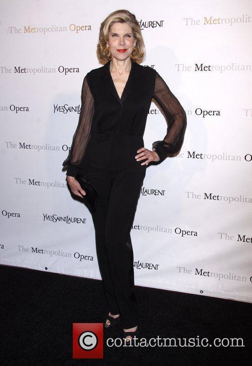 Christine Baranski The Metropolitan Opera's premiere of 'Jules...
